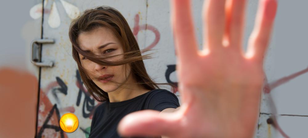 körperliche und verbale Abgrenzung